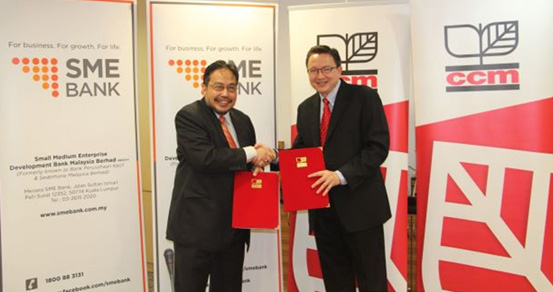 CCM Teams Up with SME Bank to Develop Bumiputra Vendors